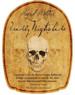 Magical Potions Labels