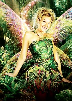 who played tinkerbell in peter pan 2003